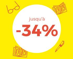 Jusqu'à -50%