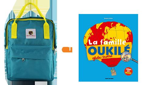 Le sac à dos Petit Ours Brun et le livre