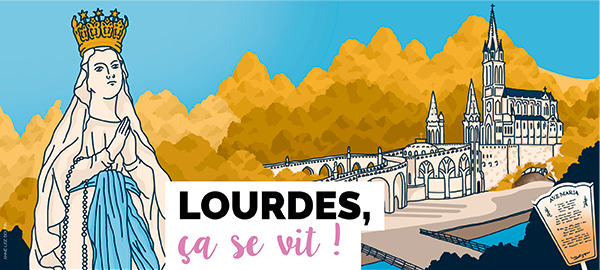 Pélerinage National à Lourdes 2020 Header
