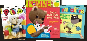 Nos magazines 1-5 ans