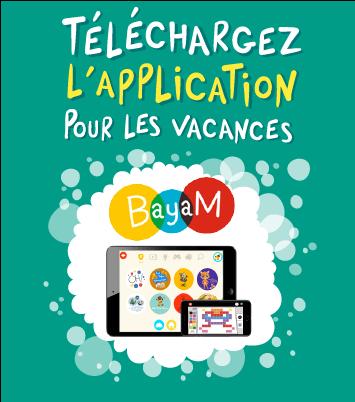 Téléchargez l'application pour les vacances BayaM